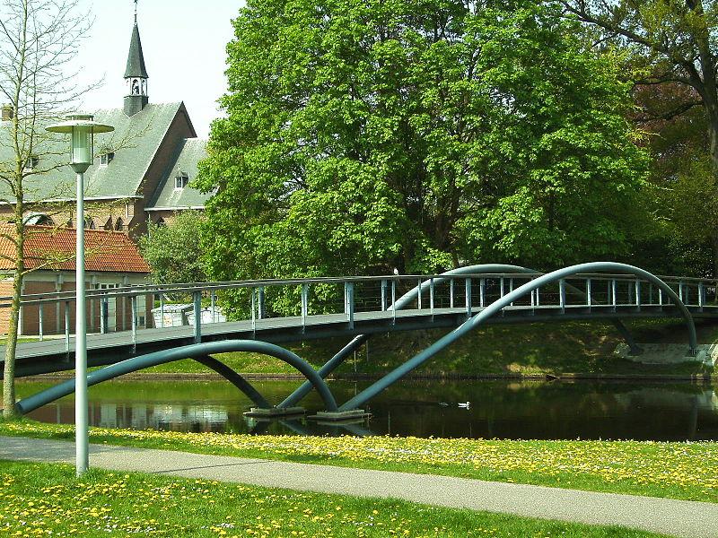 Brug Groenlo ontworpen door architect Rob Lubrecht